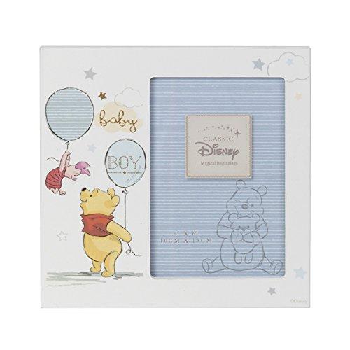 Disney mit einer MDF, 4x 6Zoll Bilderrahmen Baby Pooh Boy di416