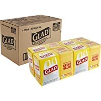 400-Count Glad Tall Kitchen Handle-Tie Trash Bags
