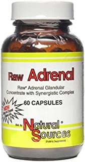 Natural Sources Raw Adrenal, 60 Count