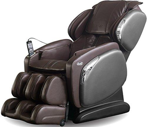 Osaki OS4000CSB Model OS-4000CS Massage Chair, Brown, L-Track Massage, Space Saving Recline Technology, Heat on Lumbar, Foot Air Massage, Zero...