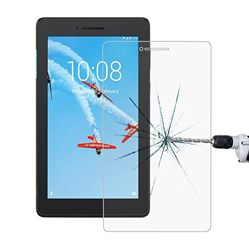 ZHAODONG Boutique Accessories 0.4mm 9H Surface Hardness Full Screen Tempered Glass Film for Lenovo Tab E7
