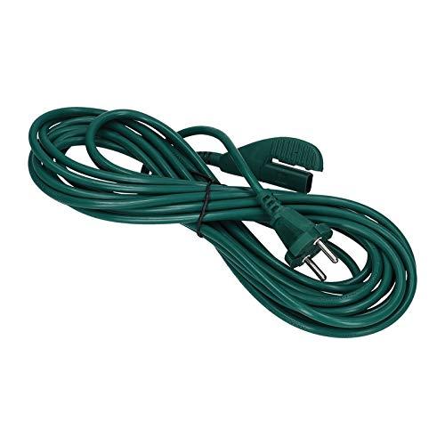 LUTH Premium Profi Parts - Cable de alimentación de 7 Metros | Compatible con los aspiradores Vorwerk Kobold VK 135 136