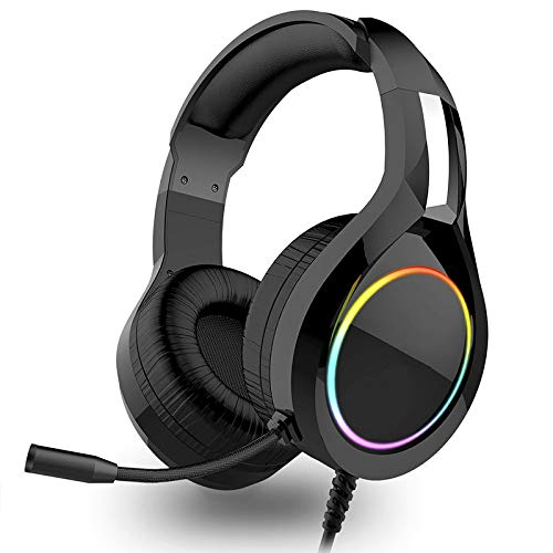 New Gaming Headset Wired Headsets with Driver, Surround Sound & Hd Microphone for Computer Laptop