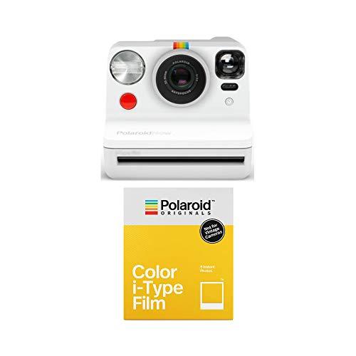 Polaroid Now Everything Box - Incl. 2X Color Film para i-Type - Blanco Now, 750 mAh, 434 g, 94 mm, 112,2 mm, 150,2 mm, Caja
