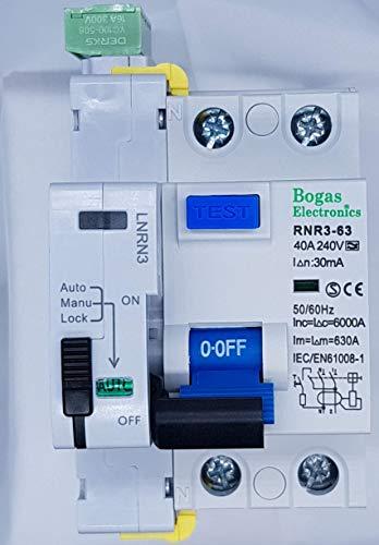 Interruptor diferencial auto rearmable Super inmunizado SI de 40A Tipo A, 6Ka 2P 30ma