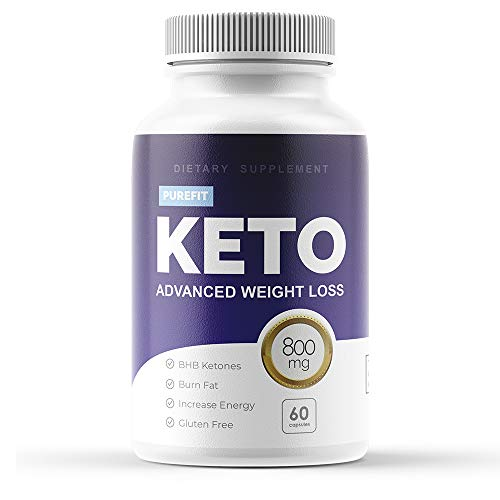 Purefit Keto Weight Loss Pills for Men and Women - Ketogenic Diet Supplement - Burn Fat for Energy - BHB Formula (1 Month)