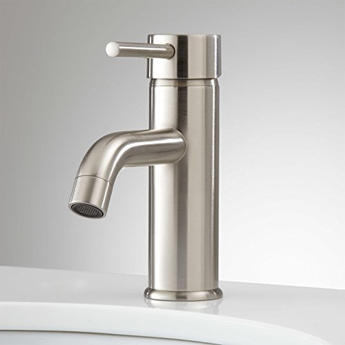 Signature Hardware 921364 Hewitt 1.2 GPM Single Hole Bathroom Faucet with Pop-up Drain Assembly