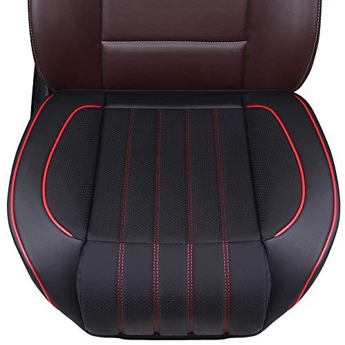 Honcenmax Auto Sitzauflage Sitzbezüge Sitzkissen Autoabdeckung Auto Sitzauflagen Rutschfest Weich Ohne Rückenlehne 1pc Auto