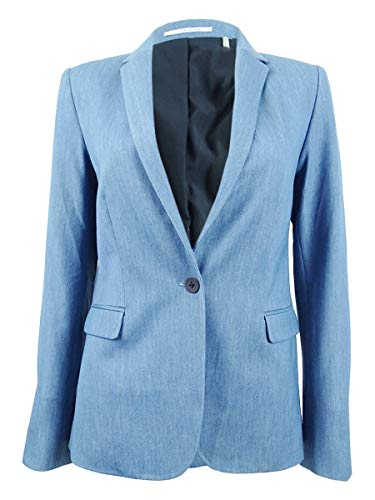 T Tahari Damen Jacke Leah - Blau - 36