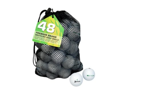 Second Chance Soft Feel 12 Balles de Golf recyclées...