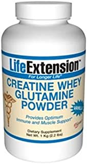 Creatine Whey Glutamine Powder, Vanilla
