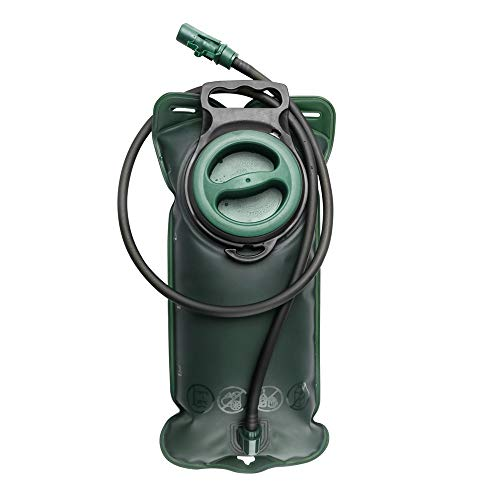 Linyuo Trinkblase 2L mit Beissventil - Wasserdichte für den Rucksack zum Wandern, Campen oder Radfahren, Geschmacklos - Trinksystem