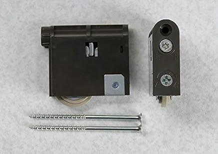 Panasonic パナソニック 調整機能付きY戸車 内装引戸用 ダークブラウン MJB907NK 2個