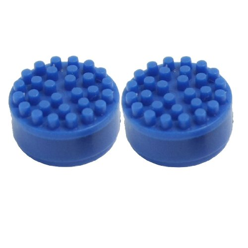 TOOGOO (R) 2 Stueck 7.0 mm Aussendurchmesser 4.0mm Hoehe Plastik Trackpoint Blaue Kappe fuer HP Laptop Zeigestock