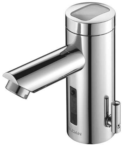 Sloan Valve EAF-275-ISM Optima Solis Solar Powered Sensor Activated Electronic Hand Washing Faucet...