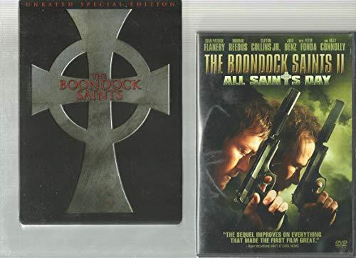 Boondock Saints & The Boondock Saints II: All Saints Day [DVD] 2 Pack Irish Crime Action Movie Set