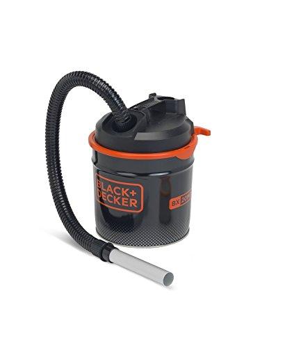 Black+Decker BXVC20MDE Aspirador de Cenizas (900 W, 18 l) con Función de Soplado