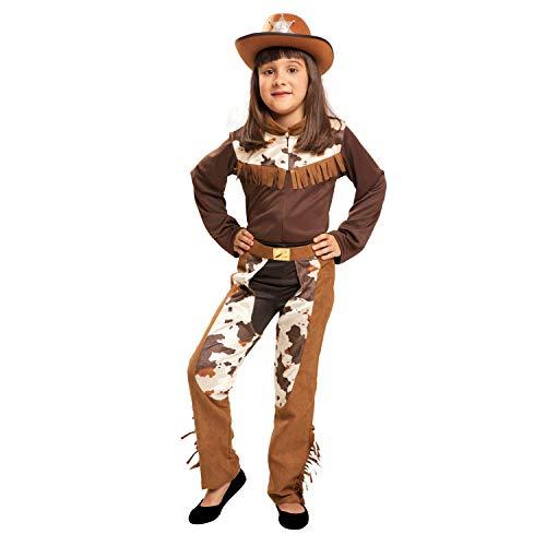 My Other Me - Disfraz de Vaquera, talla 10-12 años (Viving Costumes MOM00840)