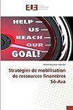 Stratégies de mobilisation de ressources financères Sô-Ava