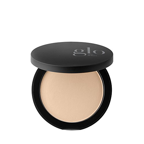 Glo Skin Beauty Pressed Base, Mineral Pressed Powder Foundation with TalcFree & ParabenFree Formula, Breathable & Buildable Coverage, Matte Finish, Natural Medium, 0.31 Oz