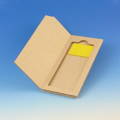 Globe Scientific 513002 Cardboard Slide Mailer for 2 Slides (1,000 mailers)