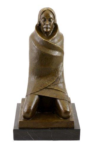 Der Beter/Der Asket - 1925 - signiert - Ernst Barlach Skulptur - Bronzefigur - Statue - Kunst - Dekoration - Sammeln