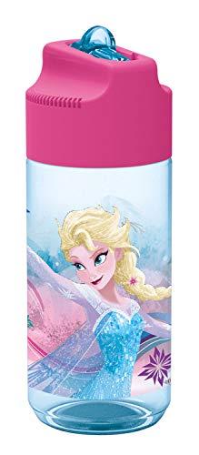 p: os 24657 - Botella Frozen, con paja integrado, 450ml