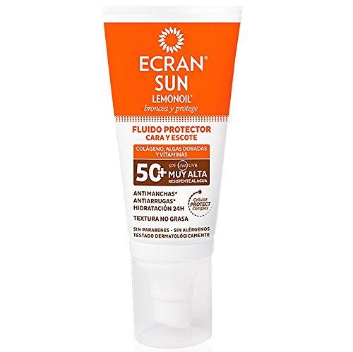 Ecran Sunnique, Filtro solar facial (F 50+) - 50 ml.
