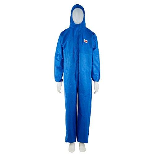 3M 4515 Prenda protección frente a polvo y salpicaduras tipo 5/6 azul talla 4XL (1 traje/bolsa)