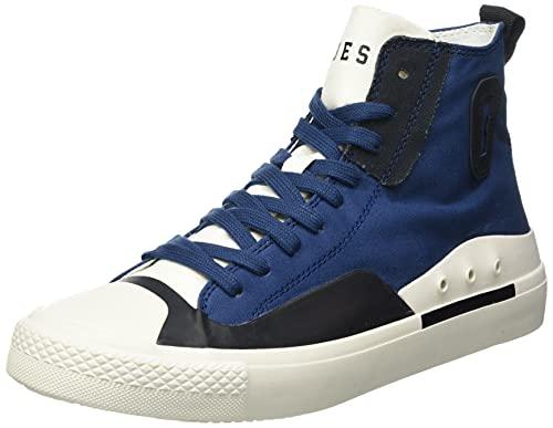 Guess Ederle Hi 2, Zapatillas Deportivas Hombre, Azul, 41 EU