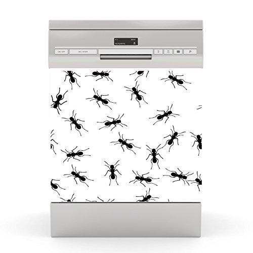 wodtke-werbetechnik Spülmaschinen Aufkleber Ameisen
