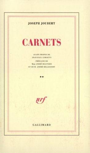 CARNETS (BLANCHE)