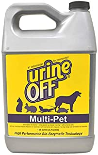 Urine Off Multi-Pet Urine Stain Remover, Premium Stain and Odor Technology