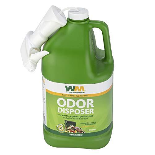 Waste Management Odor Disposer, Commerical Grade Concentrate, Odor Eliminator, 1 Gallon