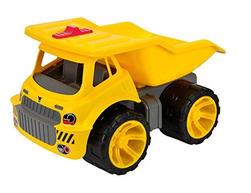 Big - 800055810 - Maxi Camion Benne avec Roues Silencieuses - Jaune