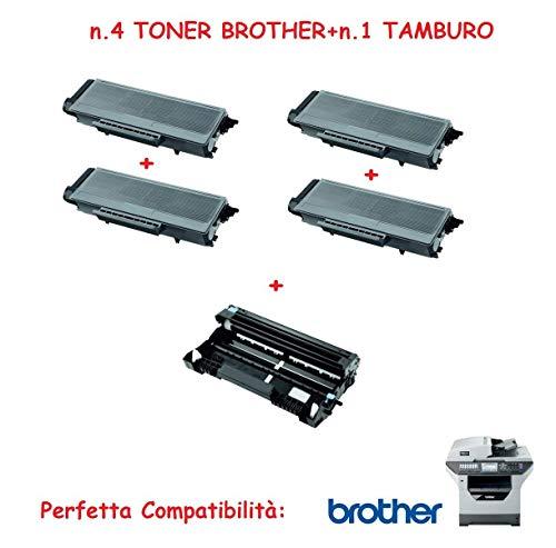 Super aanbieding nr. 8 toner TN3170 + 2 TAMBURO voor BROTHER MFC laserprinter