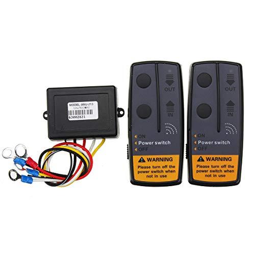 KASILU Dlb0109 Kit de recuperación distante de Control de radiocomunicaciones Digitales de 2.4 g 12V para Jeep SUV Alto Rendimiento