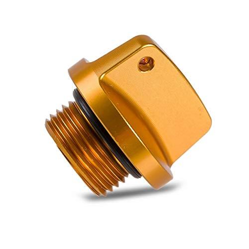 XBFVE Tapa de llenado de Aceite Plug Fit for Suzuki GSXR GSXR GSXS 600 750 1000 V Strom 650 Bandit 1200 GSR 250 / S 400 GSX 250R 1400 GSF 1250 Impulus (Color : Blue)
