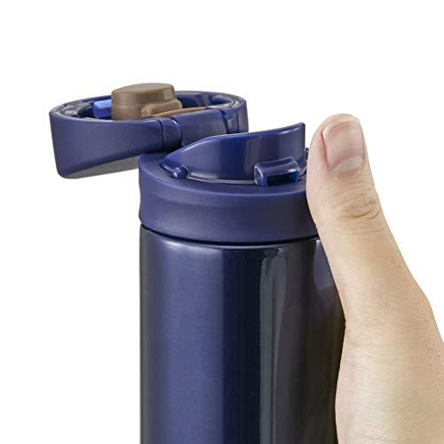タイガー魔法瓶水筒ワンタッチマグボトル6時間保温保冷200ml在宅タンブラー利用可インディゴブルーMMX-A021-AI