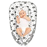 SMELOV Baby Lounger Nest for Co Sleeping,Newborn Lounger for Crib,Cosleeper for Infant in Bed& Bassinet, Perfect for Traveling and Napping
