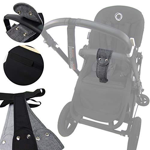BAMBINIWELT hochwertiger Schrittgurt, Rutschgurt für Kinderwagen, Haltegurt für alle Bugaboo-Modelle (schwarz)