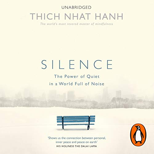 Silence audiobook cover art