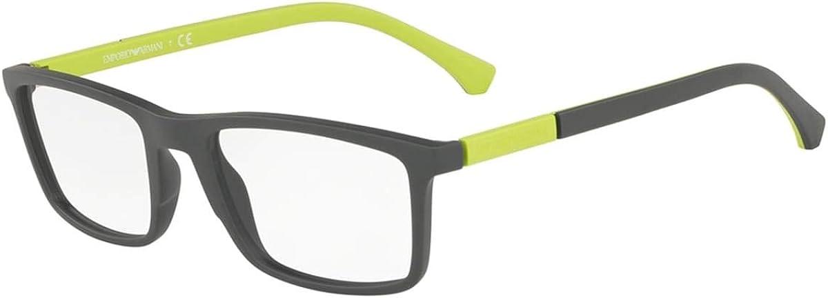 Emporio Armani EA 3152 Finally resale start MATTE GREEN Special Campaign frame 20 53 eyewear 143 men