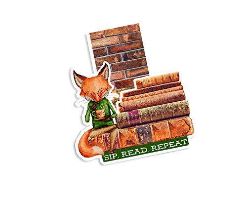 Woodland Magic Magnetic Bookmark | Planner Page Marker (Fox Teatime)