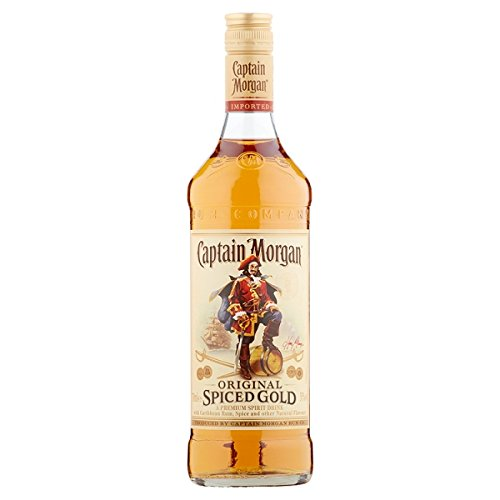 Captain Morgan Spiced Gold-Original-700ml Pack (6 x 70cl)