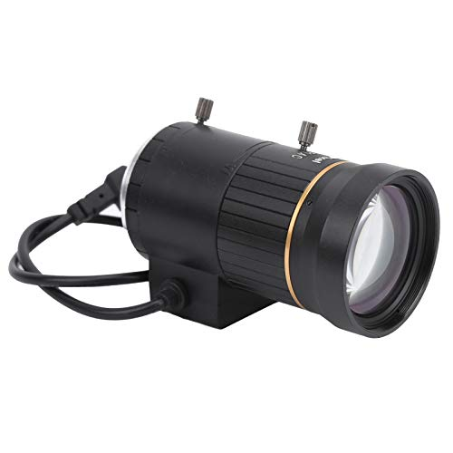 CCTV-lens, diafragma kan worden vastgezet en vergrendeld Cameralens voor de meeste beveiligingscamera's en digitale camera's