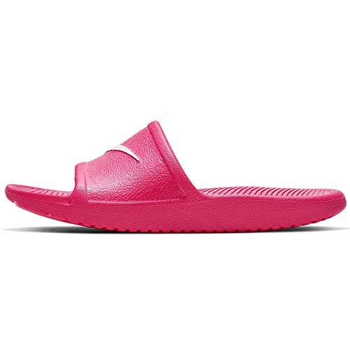 Nike Kawa Shower (gs/ps) Dusch-& Badeschuhe, Mehrfarbig (Black/Rush Pink 000), 31 EU