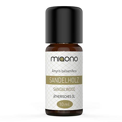 Sandelholzöl - 100% naturreines, ätherisches Öl (10ml) von miaono (Glasflasche)