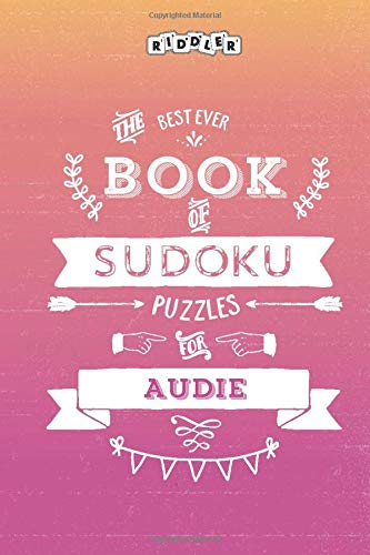 The Best Ever Book of Sudoku Puzzles for Audie