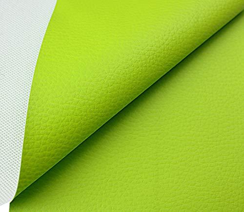 Tukan-tex Kunstleder Möbel Textil Meterware Polster Stoff PVC (Grün)